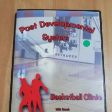 Cine: POST DEVELOPMENTAL SYSTEM. BASKETBALL CLINIC WITH COACH MICHAEL MEEK (DVD). Lote 221724568