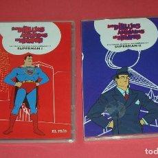 Cine: DVD SUPERMAN I Y II . LOS DIBUJOS ANIMADOS DE SIEMPRE , DVD EL PAÍS . PRECINTADOS.. Lote 221742771