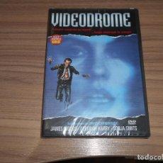 Cine: VIDEODROME DVD DE DAVID CRONENBERG JAMES WOODS TERROR NUEVA PRECINTADA. Lote 289890713