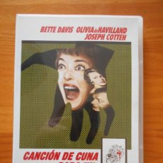 Cinema: DVD CANCION DE CUNA PARA UN CADAVER - BETTE DAVIS (N4). Lote 221781285