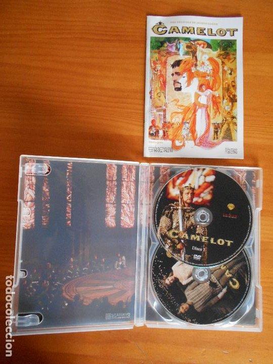 Cine: DVD CAMELOT - EDICION ESPECIAL COLECCIONISTA 2 DISCOS - INCLUYE LIBRETO (A6) - Foto 2 - 221808520