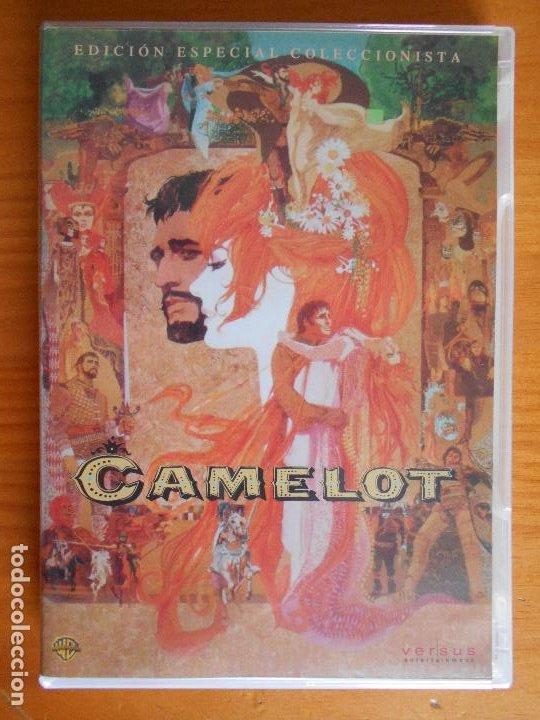 DVD CAMELOT - EDICION ESPECIAL COLECCIONISTA 2 DISCOS - INCLUYE LIBRETO (A6) (Cine - Películas - DVD)