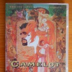 Cine: DVD CAMELOT - EDICION ESPECIAL COLECCIONISTA 2 DISCOS - INCLUYE LIBRETO (A6). Lote 221808520