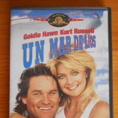 Cine: DVD UN MAR DE LIOS - GOLDIE HAWN, KURT RUSSELL (5P). Lote 221815931