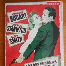 Cine: DVD LAS DOS SEÑORAS CARROLL - INCLUYE LIBRETO - HUMPHREY BOGART, BARBARA STANWYCK (6E). Lote 221818756