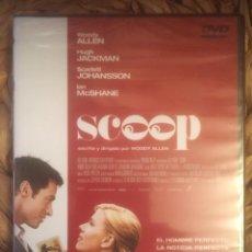 Cine: SCOOP - WOODY ALLEN - 2006 DVD ONPICTURES NUEVO PRECINTADO. Lote 221852268