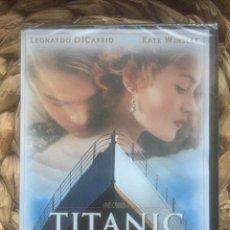 Cine: TITANIC - JAMES CAMERON - 1997 DVD NUEVO PRECINTADO. Lote 221858435
