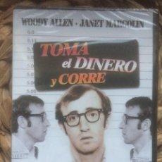 Cine: TOMA EL DINERO Y CORRE - WOODY ALLEN - 1969 DVD CREATIVE FILMS NUEVO PRECINTADO. Lote 221858526