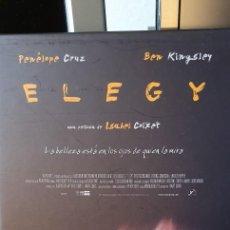 Cine: ELEGY. ISABEL COIXET. BEN KINGSLEY, PENELOPE CRUZ, DENNIS HOOPER. Lote 221859451