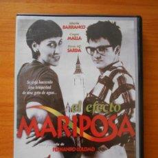 Cine: DVD EL EFECTO MARIPOSA - FERNANDO COLOMO, MARIA BARRANCO, COQUE MALLA (HÑ). Lote 221899647