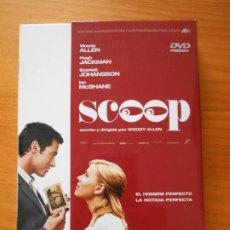 Cine: DVD SCOOP - EDICION CON CAJA - WOODY ALLEN, HUGH JACKMAN, SCARLETT JOHANSSON (IM). Lote 221899867