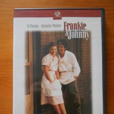 Cine: DVD FRANKIE & JOHNNY - AL PACINO, MICHELLE PFEIFFER - COMO NUEVA (IM). Lote 221900782