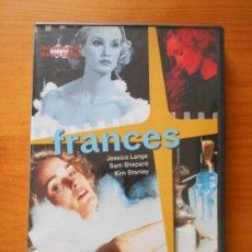 Cine: DVD FRANCES - JESSICA LANGE, SAM SHEPARD (IM). Lote 221901477