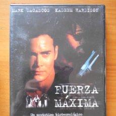 Cine: DVD FUERZA MAXIMA - MARK DACASCOS, KADEEM HARDISON (HÑ). Lote 221902003