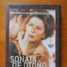 Cine: DVD SONATA DE OTOÑO - INGMAR BERGMAN, INGRID BERGMAN (HÑ). Lote 221902428