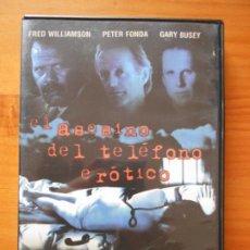 Cine: DVD EL ASESINO DEL TELEFONO EROTICO - FRED WILLIAMSON (DY). Lote 221902997