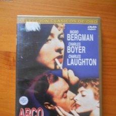 Cine: DVD ARCO DE TRIUNFO - LEWIS MILESTONE, INGRID BERGMAN (DY). Lote 221903896