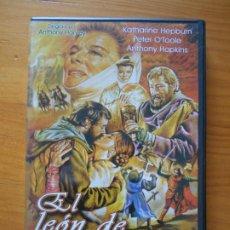 Cine: DVD EL LEON DE INVIERNO - KATHARINE HEPBURN (DY). Lote 221904081