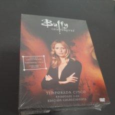 Cine: REF. 7334 BUFFY CAZAVAMPIROS TEMPORADA 5 -DVD NUEVO A ESTRENAR. Lote 221906145
