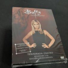 Cine: REF. 7335 BUFFY CAZAVAMPIROS TEMPORADA 4 -DVD NUEVO A ESTRENAR. Lote 221906295
