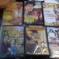 Cine: LOTE DE 6 DVD PRECINTADOS PELÍCULAS CLÁSICAS DEL OESTE. Lote 221925805