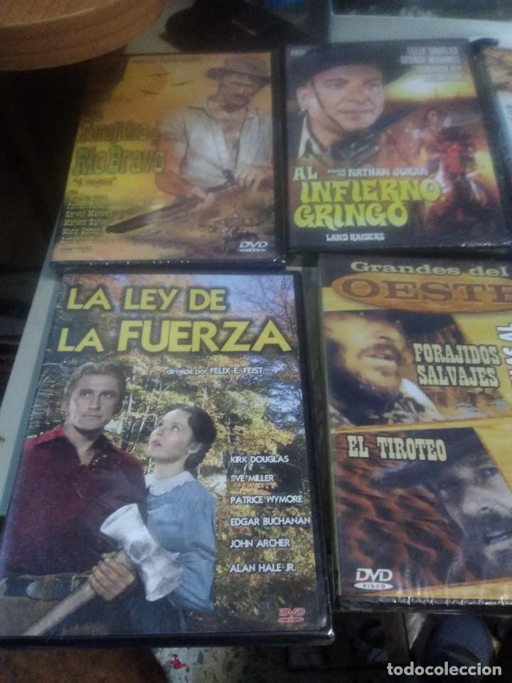 Cine: Lote de 6 dvd precintados películas clásicas del oeste - Foto 2 - 221925805