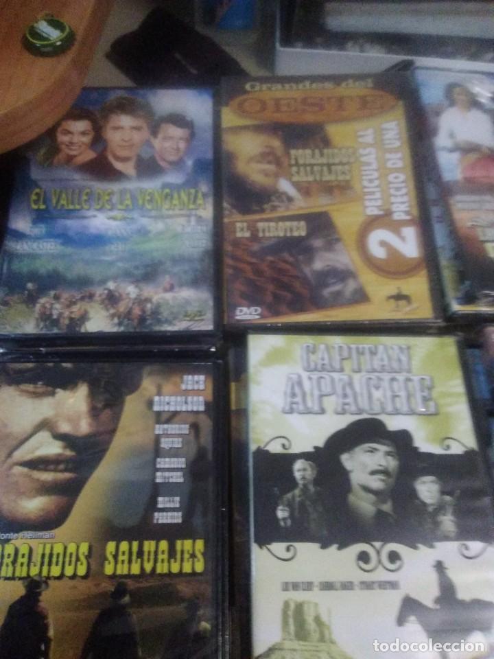 Cine: Lote de 6 dvd precintados películas clásicas del oeste - Foto 2 - 221926091