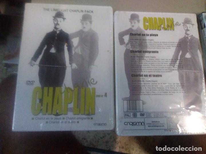 CHARLIE CHAPLIN DVD Nº 4 : CHARLOT EN LA PLAYA + CHARLOT EMIGRANTE + CHARLOT EN EL TEATRO (Cine - Películas - DVD)