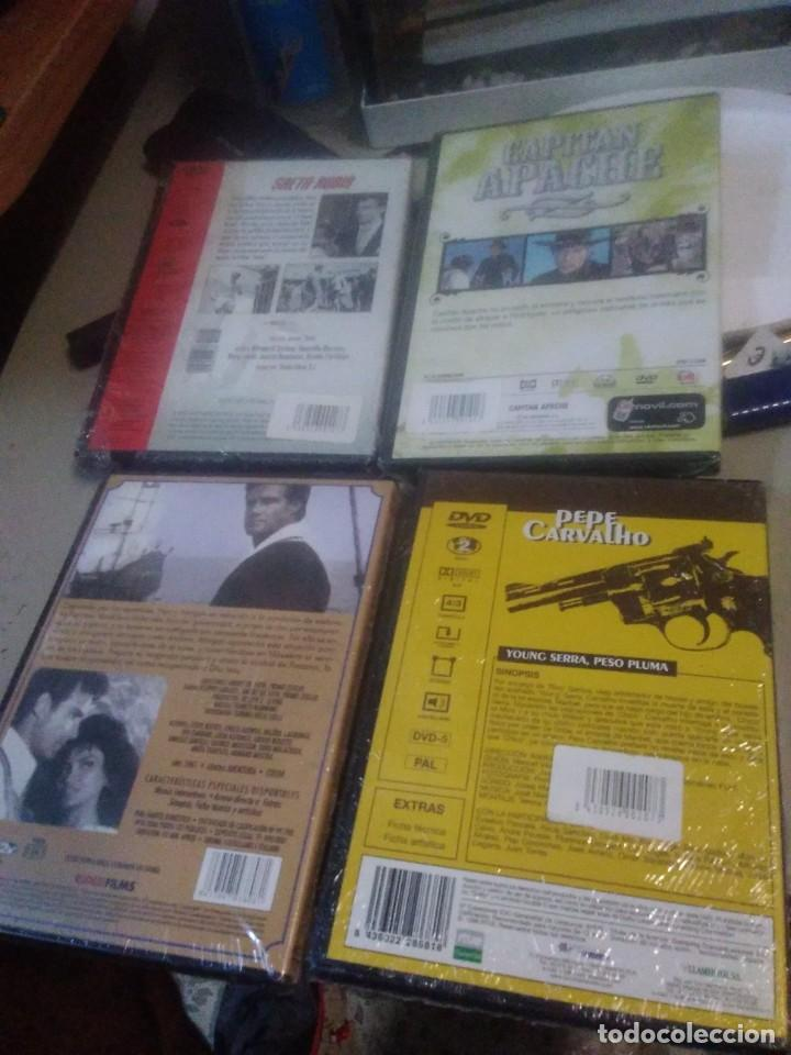 Cine: 4 DVD películas saeta rubia, Morgan el pirata, capitán apache, pepe carvalho - Foto 2 - 221927018