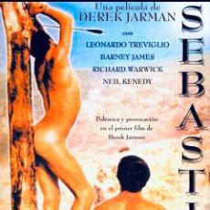 Cine: SEBASTIAN DVD DEREK JARMAN. Lote 221957942