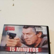 Cinema: G-46 DVD CINE 15 MINUTOS MATAME ROBERT DE NIRO EDWARD BURNS. Lote 221968907