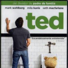 Cine: TED - SETH MACFARLANE - MARK WHALBERG, MILA KUNIS (PRECINTADA). Lote 221969765
