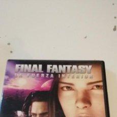 Cine: G-46 DVD CINE FINAL FANTASY LA FUERZA INTERIOR. Lote 221969906