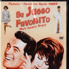 Cine: SU JUEGO FAVORITO - HOWARD HAWKS - ROCK HUDSON (PRECINTADA). Lote 221969946