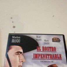Cine: G-46 DVD CINE EL ROSTRO IMPENETRABLE KARL MALDEN KATY JURADO. Lote 221970295