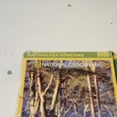 Cine: G-46 DVD ATIONAL GEOGRAPHIC. LOS MEJORES DOCUMENTALES DE NATURALEZA AFRICANA. (5 DVD). Lote 221970963