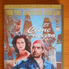 Cine: DVD EL CISNE NEGRO - TYRONE POWER, MAUREEN O'HARA, ANTHONY QUINN (IK1). Lote 222019471