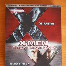 Cine: DVD X-MEN PACK SAGA - EDICION 4 DISCOS: X-MEN Y X-MEN 2 (IK1). Lote 222024033