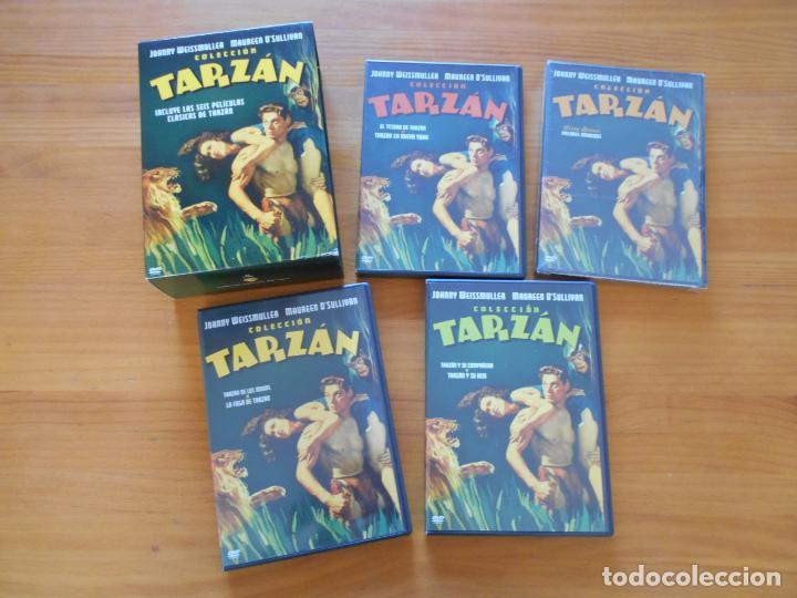 Cine: DVD COLECCION TARZAN - INCLUYE LAS 6 PELICULAS CLASICAS DE TARZAN EN 4 DVDS (IK1) - Foto 2 - 222024970