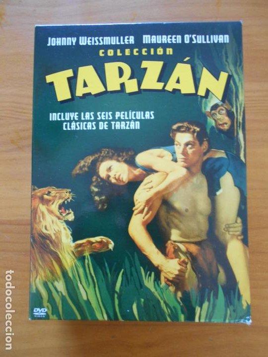 DVD COLECCION TARZAN - INCLUYE LAS 6 PELICULAS CLASICAS DE TARZAN EN 4 DVD'S (IK1) (Cine - Películas - DVD)