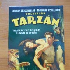 Cine: DVD COLECCION TARZAN - INCLUYE LAS 6 PELICULAS CLASICAS DE TARZAN EN 4 DVD'S (IK1). Lote 222024970