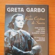 Cine: DVD LA REINA CRISTINA DE SUECIA - GRETA GARBO (5Q). Lote 222029722