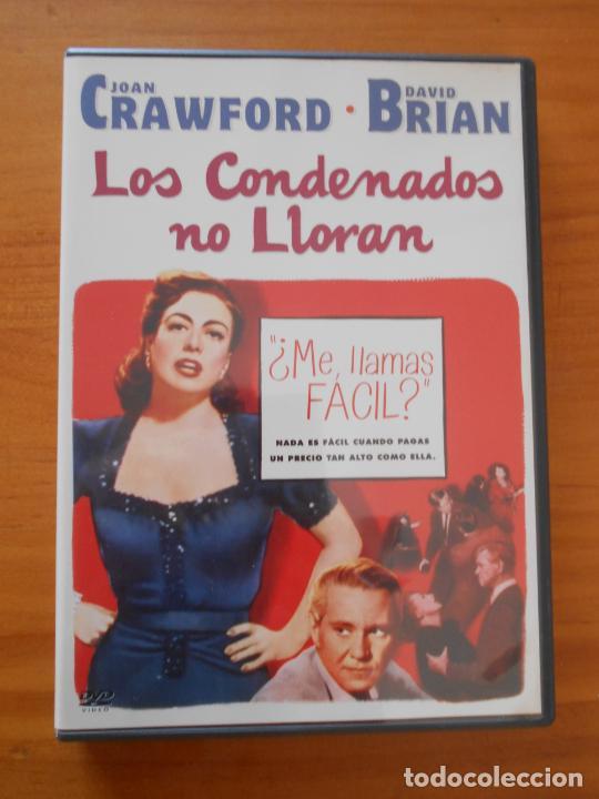DVD LOS CONDENADOS NO LLORAN - JOAN CRAWFORD, DAVID BRIAN (5T) (Cine - Películas - DVD)