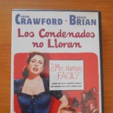 Cine: DVD LOS CONDENADOS NO LLORAN - JOAN CRAWFORD, DAVID BRIAN (5T). Lote 222029778