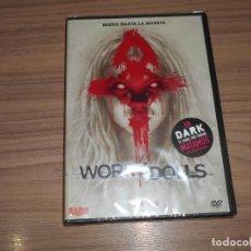 Cine: WORRY DOLLS DVD TERROR NUEVA PRECINTADA. Lote 222055536