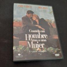 Cinéma: 20709 CUANDO UN HOMBRE AMA A UNA MUJER -DVD SEGUNDA MANO. Lote 222114958