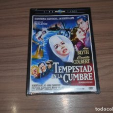 Cine: TEMPESTAD EN LA CUMBRE DVD ANN BLYTH CLAUDETTE COLBERT NUEVA PRECINTADA. Lote 222203793