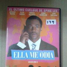 Cine: ELLA ME ODIA. ANTHONY MACKIE. Lote 222312025