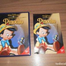 Cine: PINOCHO EDICION ESPECIAL DVD CLASICO DISNEY Nº 2. Lote 222316208