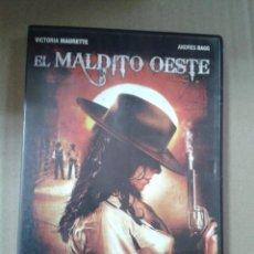 Cine: EL MALDITO OESTE - VICTORIA MAURETTE - ANDRES BAGG. Lote 222316672